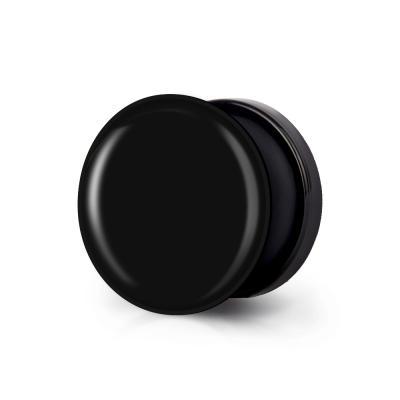 샤론6 블랙 원형 그립톡 그라데이션 더블랙