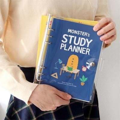 몬스터 6공 스터디 플래너(A5)-6개월용