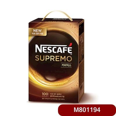네슬레)네스카페 수프리모커피믹스 100T