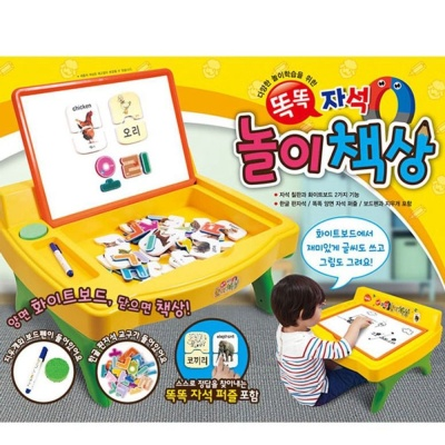어린이 자석놀이 한글 영어 공부 장난감 퍼즐 칠판