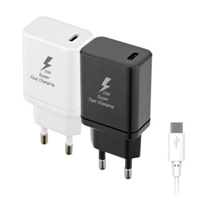 PD3.0 25W 초고속 핸드폰 충전기 & 케이블 CYPD25C
