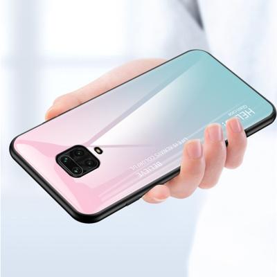 홍미노트 9s 9 pro max 그라데이션 강화유리 폰케이스