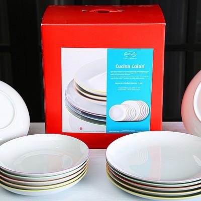 알쯔버그 쿠치나 접시 set(12p)