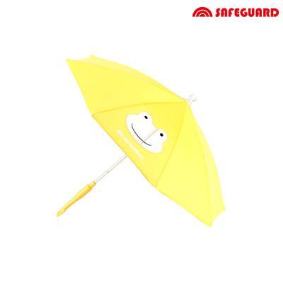 세이프가드 유아용 우산 개구리_노란색