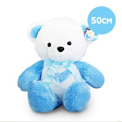 한울토이 반달곰인형 블루-중(50cm)