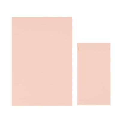 1000 컬러편지지- 연분홍색