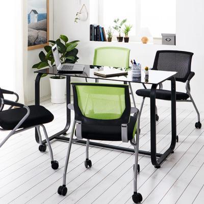 홈피스 1500 유리 회의용테이블