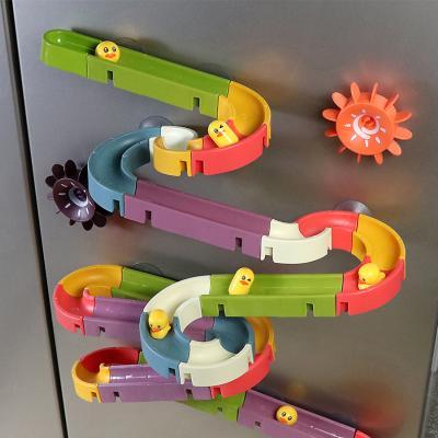 레츠토이 워터슬라이드 66pcs 레일 장난감 목욕놀이