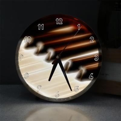 nf733-LED시계액자25R_빛나는피아노