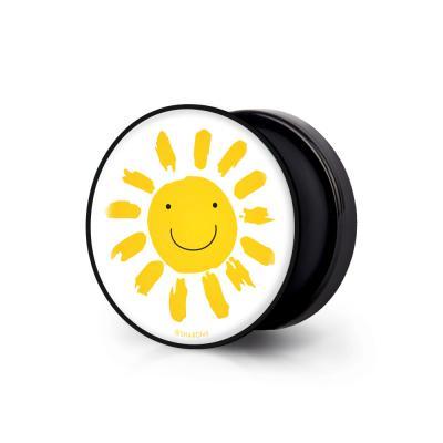 샤론6 블랙 원형 그립톡 태양