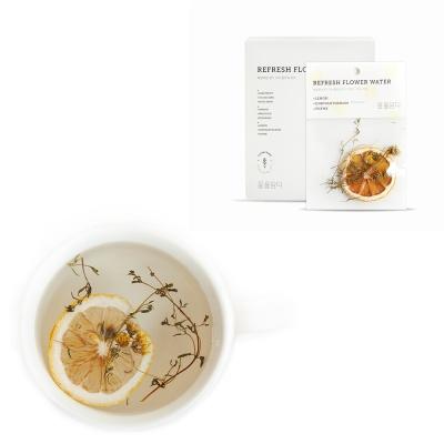 [꽃을담다]리프레시플라워워터(레몬&국화)-10개입
