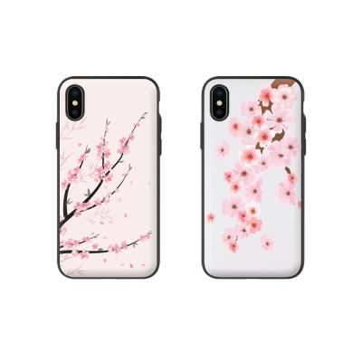 [아이폰11프로맥스] 벚꽃 자석 도어 범퍼케이스