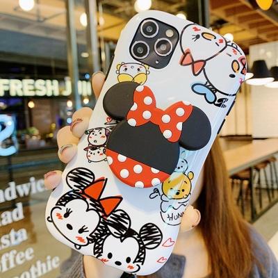 아이폰 귀여운 커플쥐 캐릭터 스마트톡 실리콘 케이스