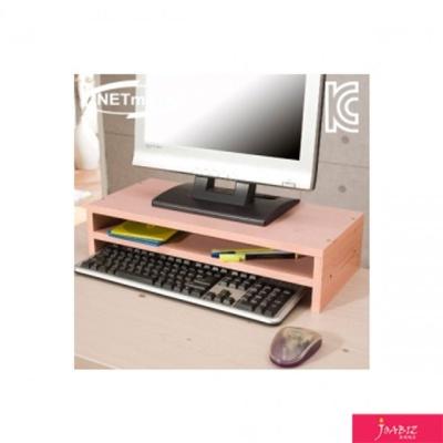 NMK-OMS10 2단 모니터 받침대 핑크 책상소품