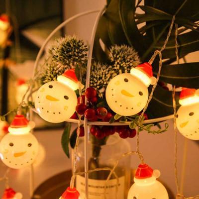 Snowman LED Christmas 가랜드 배터리미포함