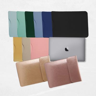 노트북 가죽 패션 파우치 (13,15인치)