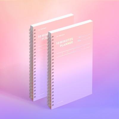 [컬러칩] 텐미닛 플래너 100DAYS - 드림 캐처 2EA