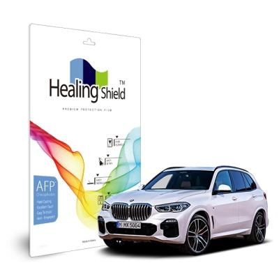 BMW X5 2019 센터페시아 컨트롤 다이얼 올레포빅액정2