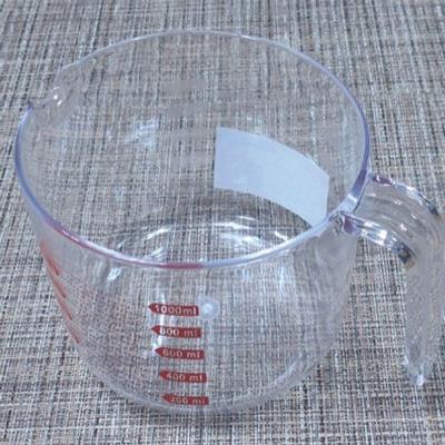 계량컵 계량기 비커 베이킹 용량컵 아크릴 투명 1L