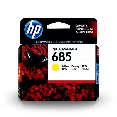 HP CZ124AA / NO.685 / Yellow Dye ink / 300P