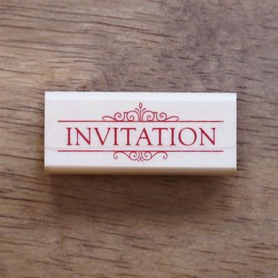 초대장스탬프(INVITATION)