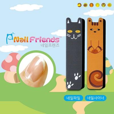 네일파일 and 샤이너 (Mini Friends-까미 and 라미)
