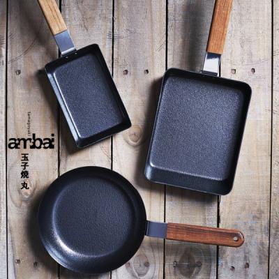 일본 명품 암바이 ambai 후라이팬 원형팬 사각 계란말이팬