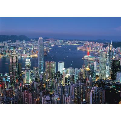 2000피스 직소퍼즐 - 화려한 불빛이 켜진 홍콩
