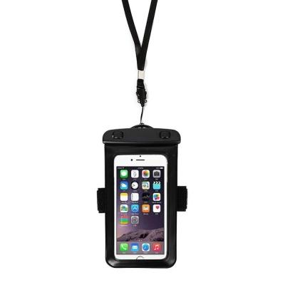 암밴드 넥스트랩 스마트폰 방수팩 블랙 IPx8