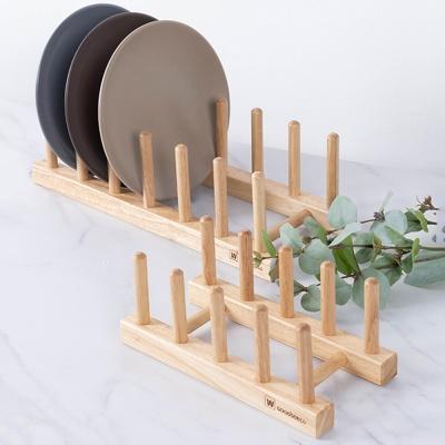 원목 그릇정리대 접시꽂이 정리대 소형 대형