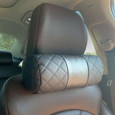 차량용 자동차 헤드레스트 목받침 목베개 목쿠션 블랙