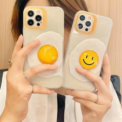 아이폰12 11 pro max xs 8 스마일 계란 젤리 폰케이스