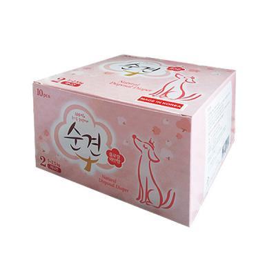 펫스타일 순견기저귀 2단계 (미니견/10매)-여아용