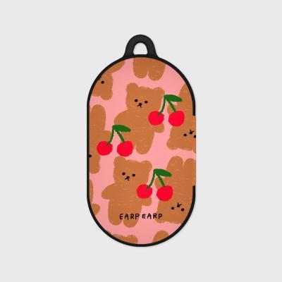 DOT CHERRY BIG BEAR-PINK(버즈플러스-하드)