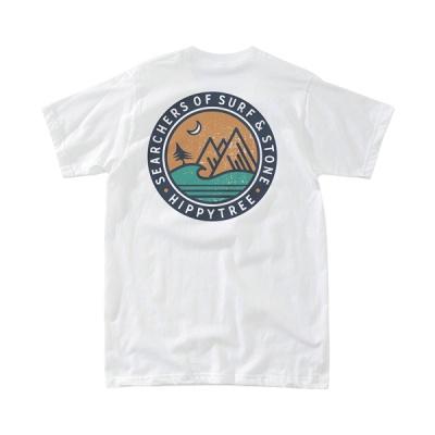 [히피트리] Southpoint Tee - White