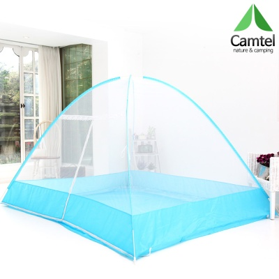캠텔 [바닥있는] 원터치 텐트형 모기장 1~2인용