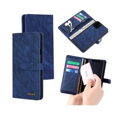 아이폰xs 7 8 plus 빈티지 카드 지갑케이스 자석 분리