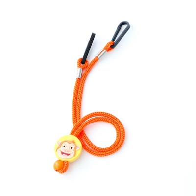 키즈 동물 캐릭터 마스크 스트랩 - 오렌지(Orange)