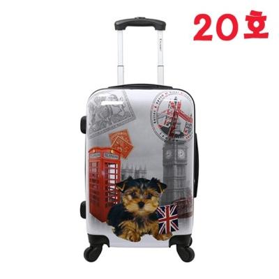펫콜렉션 기내용 20호 캐리어 (UK런던) 여행용가방