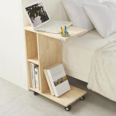이동식 보조 테이블 노트북 책상 좌식 타공형