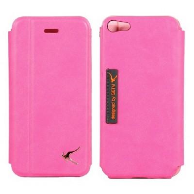 아이루 아이폰5가죽케이스/슬림/이태리원단/LE4i5/iphone5(핑크)