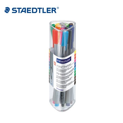 스테들러 트리플러스 화인라이너 12색세트/334-PR12