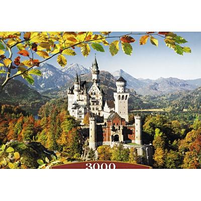 3000조각 미니퍼즐▶ 노이슈반슈타인 성의 가을 (LD300013)