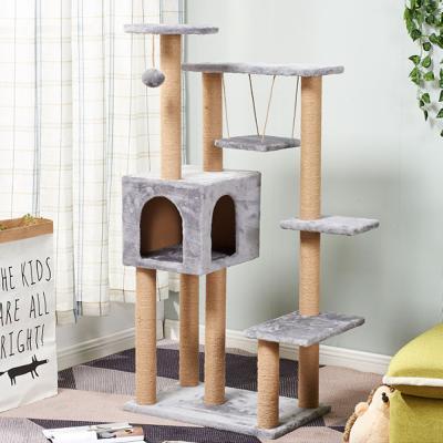 캣타워 고양이집 하우스 캣트리 DIY 5단