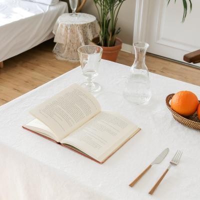 포홈 린넨 식탁보 테이블보 (2인용) (3color)
