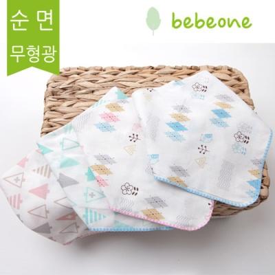 [베베원] 무형광거즈 스카프빕 4중거즈 어린이집필수품 봄,여름 신생아  유아 아기 출산 백일 돌선물