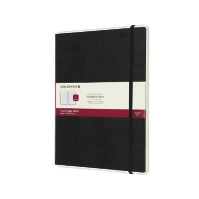 몰스킨 페이퍼 태블릿 룰드/블랙 하드 XL