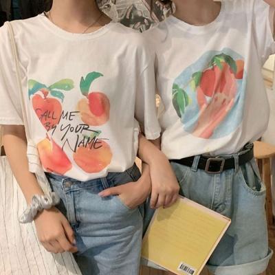 유어피치 데일리 티셔츠