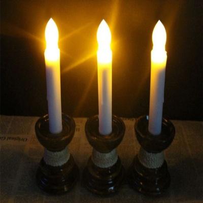 파티 카페 실내조명등 램프 무드등 LED 캔들 슬림형