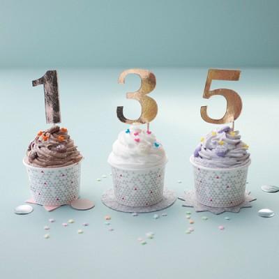 숫자 케이크 토퍼